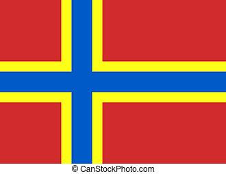 Official Orkney Community Flag - 8:11 (current flag of...