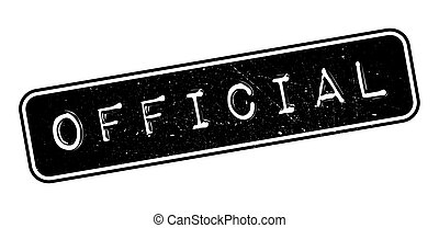Official rubber stamp