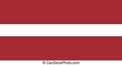 Official vector flag of Latvia . Republic of Latvia .