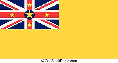 Official vector flag of Niue .
