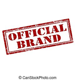 officiel, brand-stamp