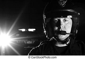 officier, moteur