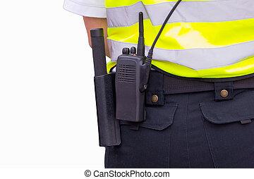 officier sécurité