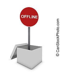 offline banner