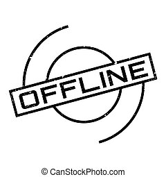 Offline rubber stamp