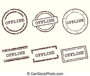Offline stamps
