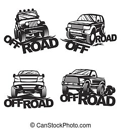 offroad set emblems