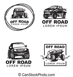 offroad set emblems2