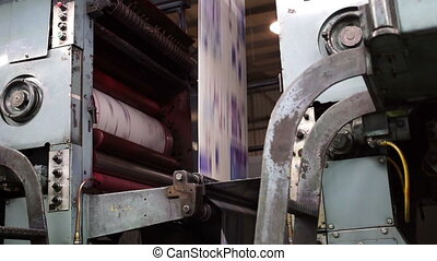 Offset Press Cyan Drum Handheld
