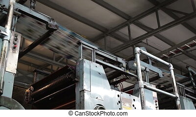 Offset Press Newspaper Overhead