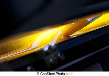 Offset press printing for labels - Offset printer for labels...
