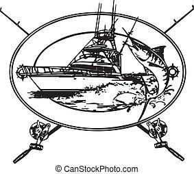 offshore, båd