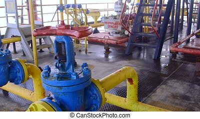 Offshore gas production platform facilities - Offshore gas ...