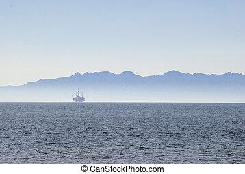 offshore, oilrig