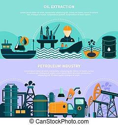 Offshore Petroleum Production Banners