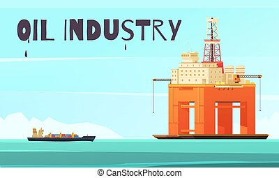 Offshore Platform Industrial Composition