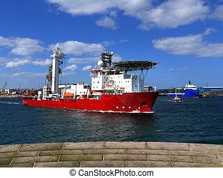 Offshore Support Vessel - Oil Industry offshore support...