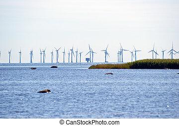 Offshore wind energy park