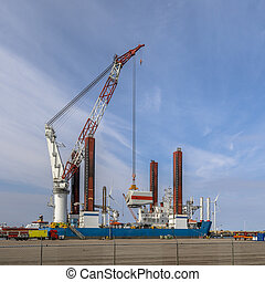 Offshore wind energy supply vessel - Offshore wind energy...
