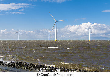 offshore windmill park