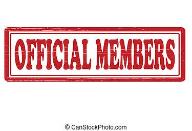 oficial, miembro