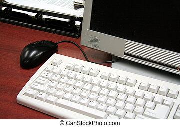 oficina, computadoras
