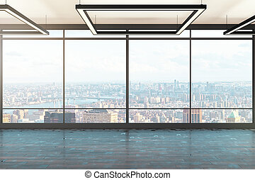 oficina contemporánea, interior