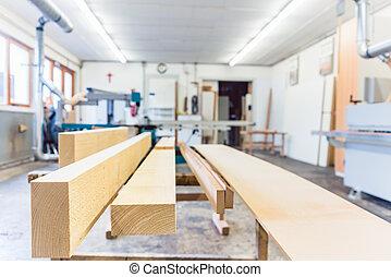 oficina, joiner, carpinteiro, ou