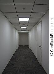 oficina, pasillo
