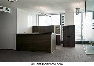 oficina, recepción