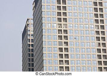 oficina, resumen, corporativo, plano de fondo