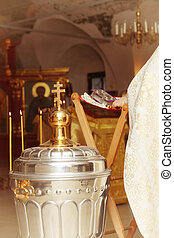 oficio religioso, cruces