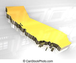 og, χρυσαφένιος , 3d , california αντιστοιχίζω