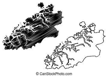 og, mapa, más, romsdal