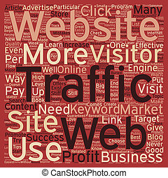 OG web traffic 13 text background wordcloud concept