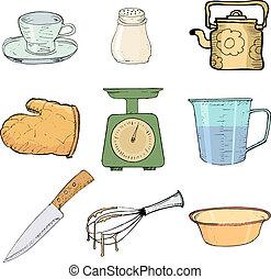 oggetti, cucina