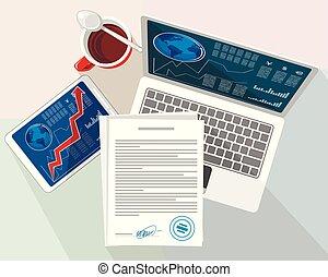 oggetti, desktop