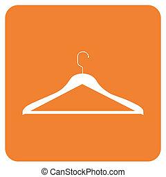 oggetti, gruccia, collection:, vestiti