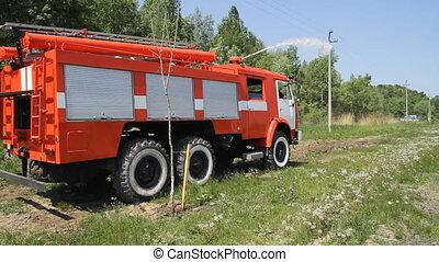 ogień maszyna