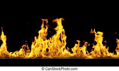 ogień, pętla, hd