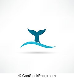 ogon wieloryba, ikona
