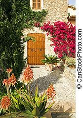 ogród, hiszpański
