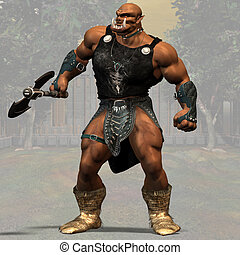 Ogre #01 - Fantasy Series - Image contains a Clipping Path /...