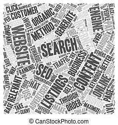OGSEO seo text background wordcloud concept