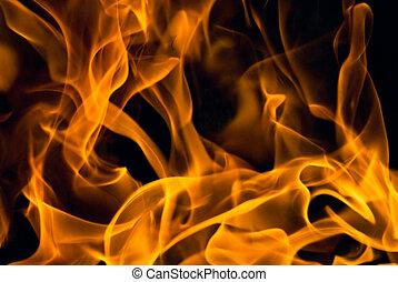 oheň, grafické pozadí