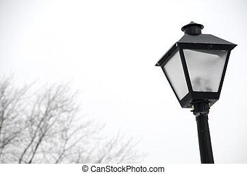ohio, lightpost