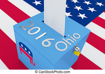 ohio, républicain, 2016