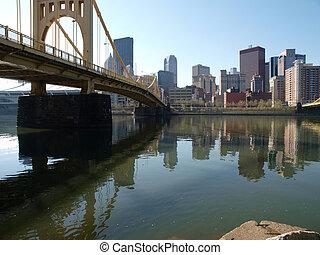 Ohio River Bridge Pittsburgh