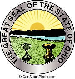 Ohio State Seal - The great seal of the state of Ohio