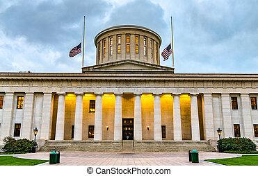 Ohio Statehouse in Columbus, USA